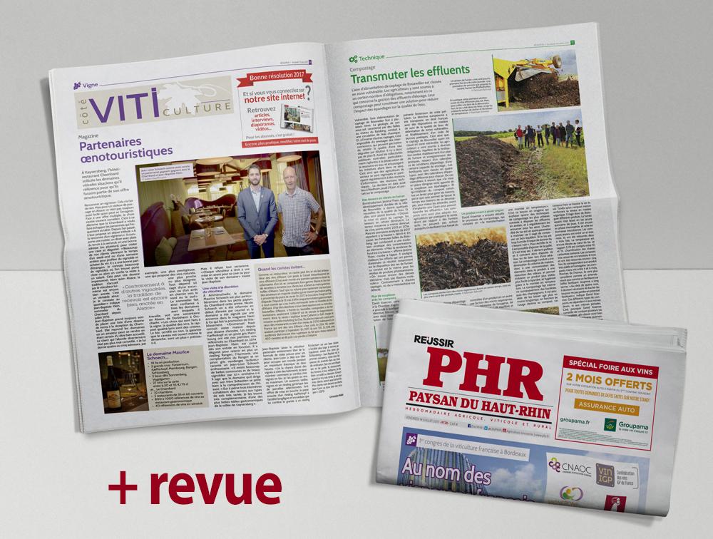 Abonnement papier + web + 1 revue Réussir