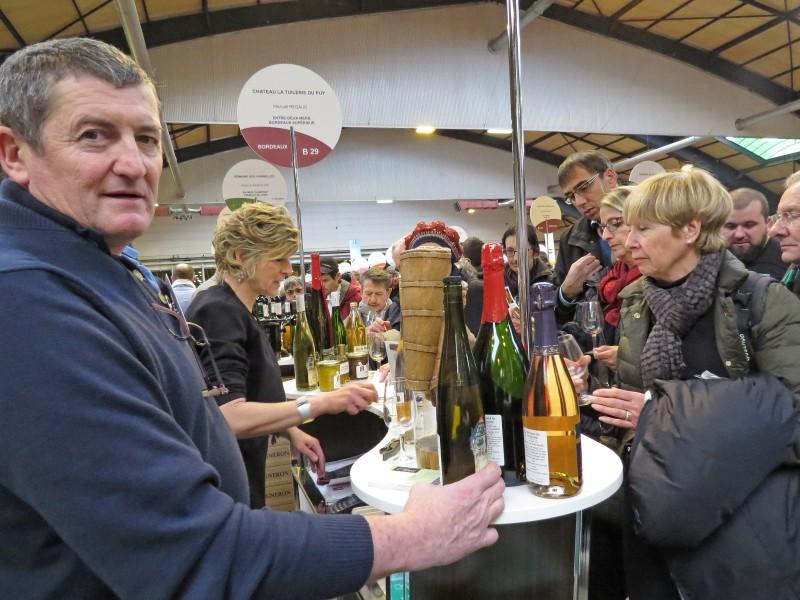 Les ind pendants surfent sur le succ s phr le paysan - Salon des vignerons independants strasbourg ...