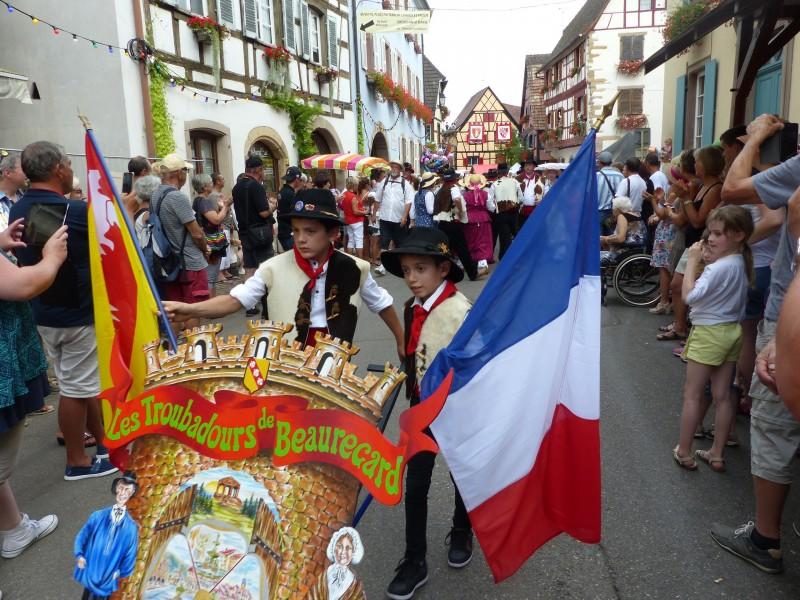 Fête des vignerons_Eguisheim