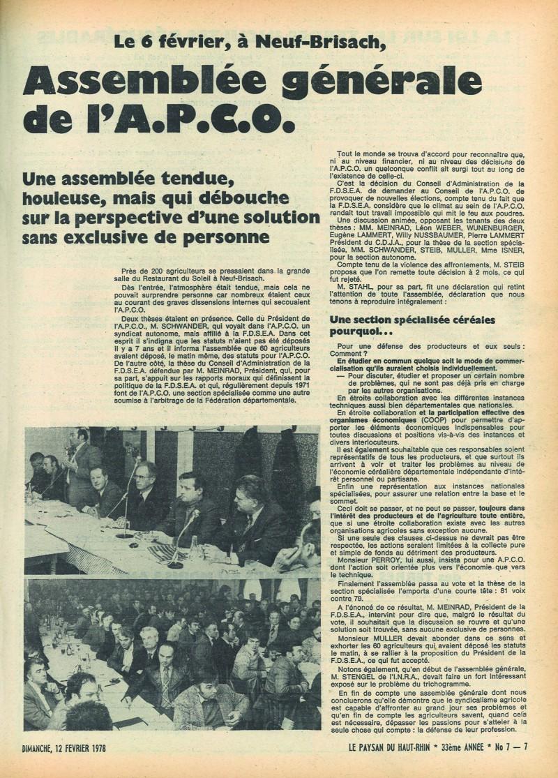AG APCO 1978