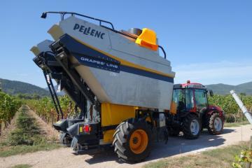 Démo Pellenc Berger Machines Agricoles 180918DSC0