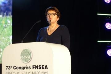 CONGRES 2019 FNSEA, Christiane Lambert